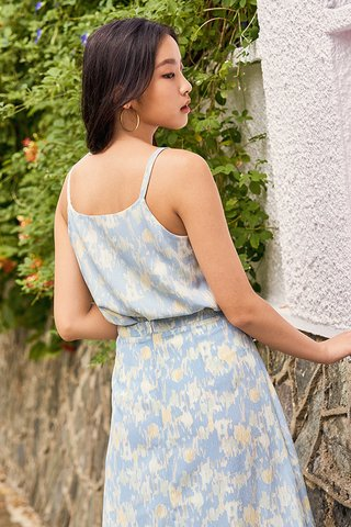 Charvine Two Way Top in Blue
