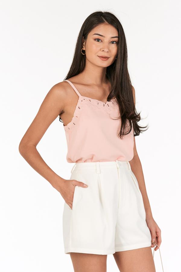 Lyanie Top in Light Pink