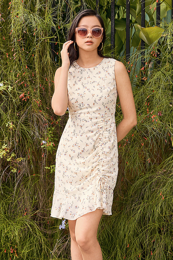 Aurelie Dress in Cream