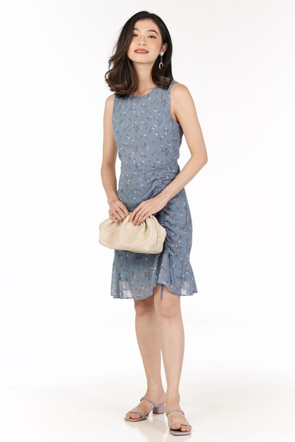 Aurelie Dress in Periwinkle