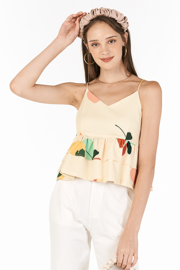 Ordell Top in Cream