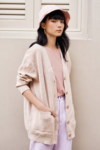 *Backorder* Brenna Knit Cardigan in Paddlepop