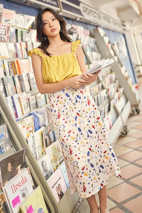 *Backorder* Palette Midi Skirt