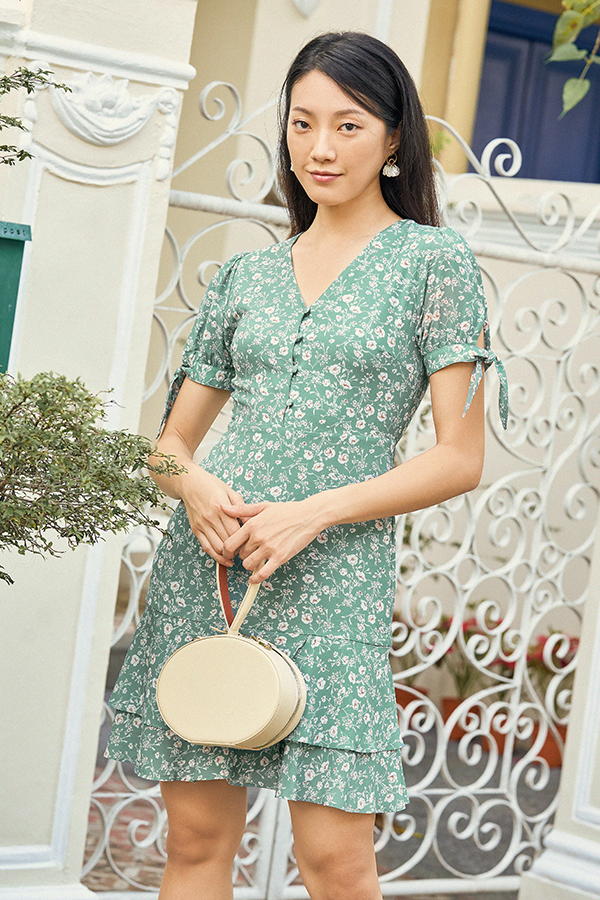 Enda Dress in Seafoam