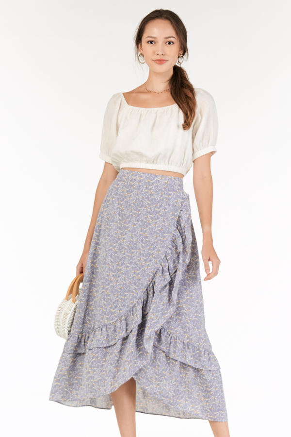 Rowella Midi Skirt in Lilac