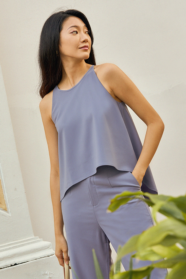 *Pre-Order* Carter Top in Periwinkle