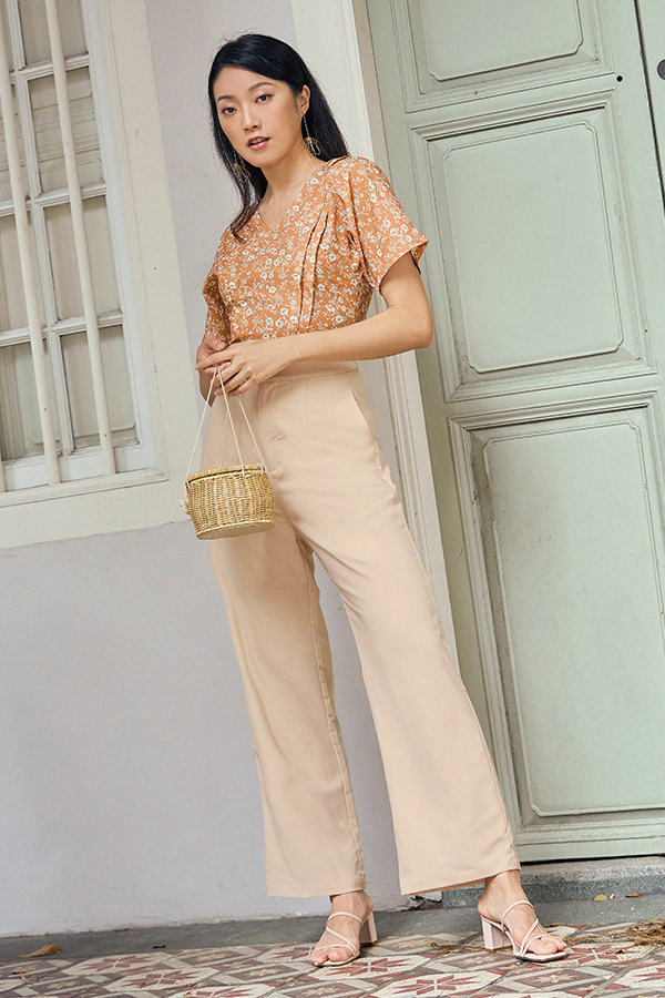 Carter Pants in Nude