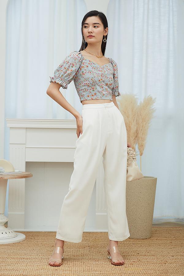 Moris Pants in White