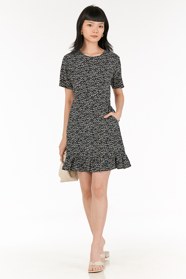 Rowella Dress in Black