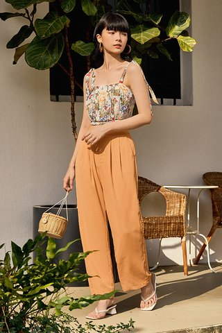 Moris Pants in Sunrise Orange