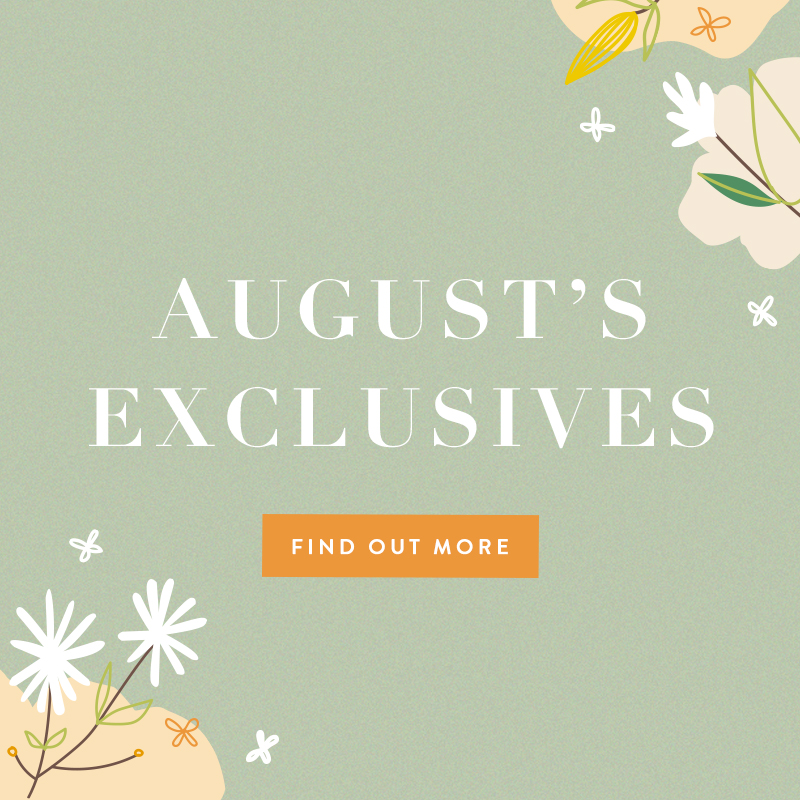 Aug 2020 Exclusives