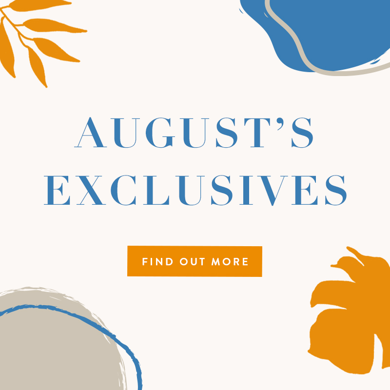August 2019 Exclusives